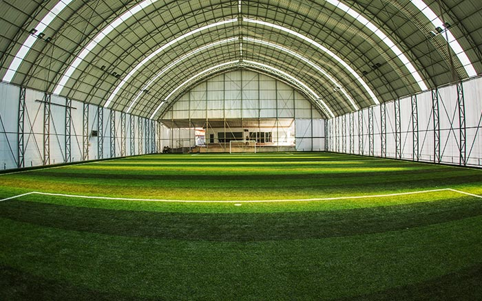 Indoor soccer field construction companies and cost