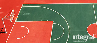 Basketball court construction - indoor and outdoor