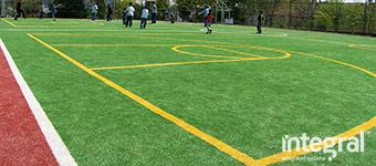 Muga sports field construction 9